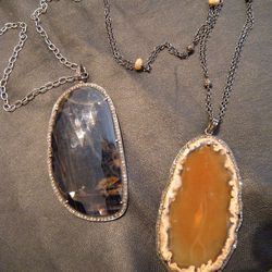 Jemma Sands Pendants (R) $900 (originally $2000) (L) $840 (originally $1750)