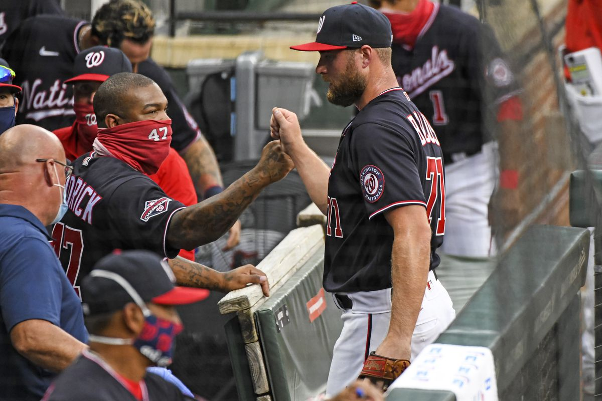 MLB: AUG 14 Orioles at Nationals