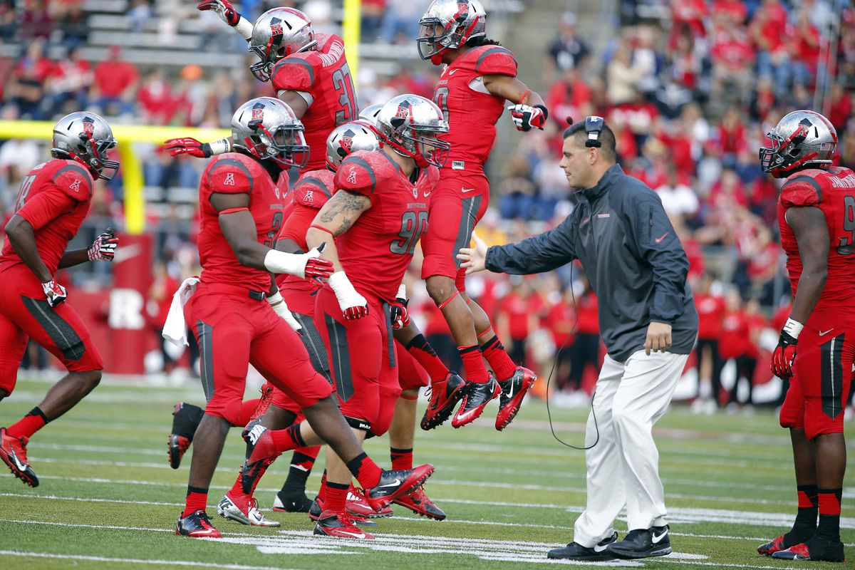 Defensive line coach Jim Panagos gets the credit for recruiting Applefield.