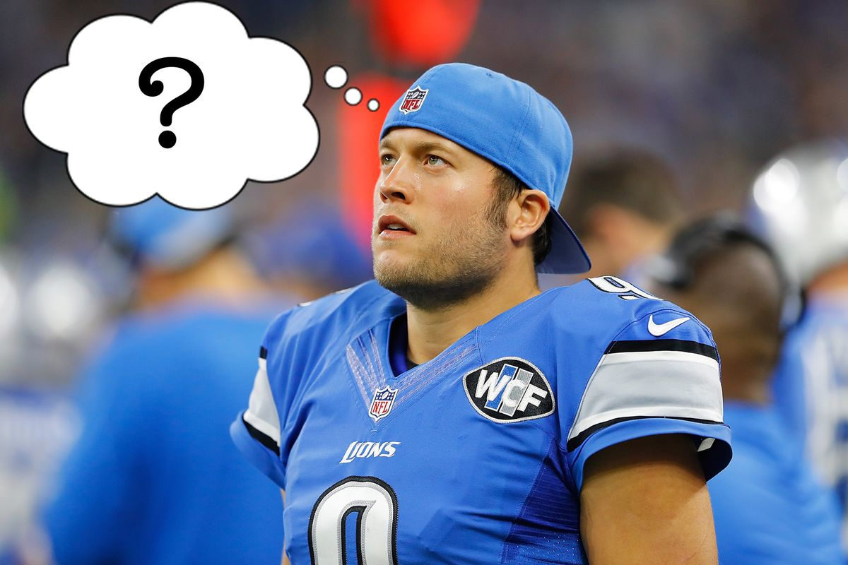 Who the hell is Matthew Stafford SBNation