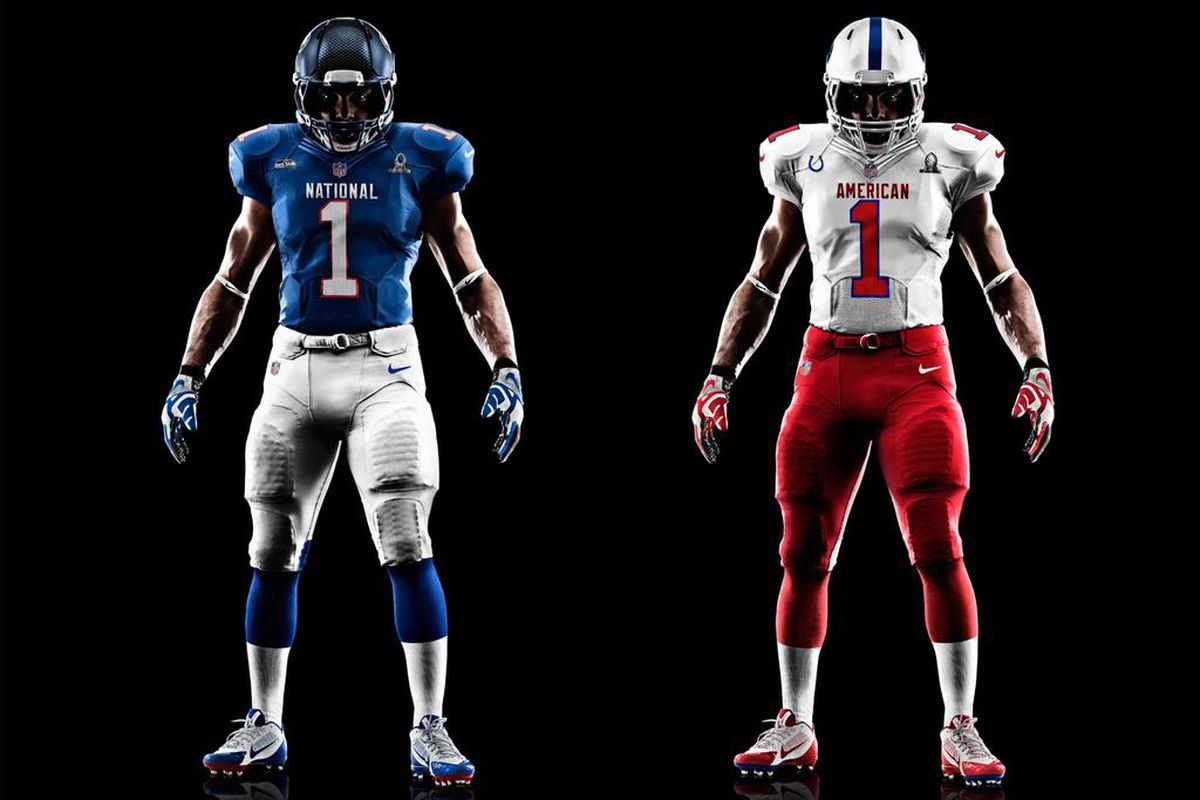 NFL Pro Bowl 2013 jerseys  Uniforms for Sunday s game revealed ... 4110c0f9d