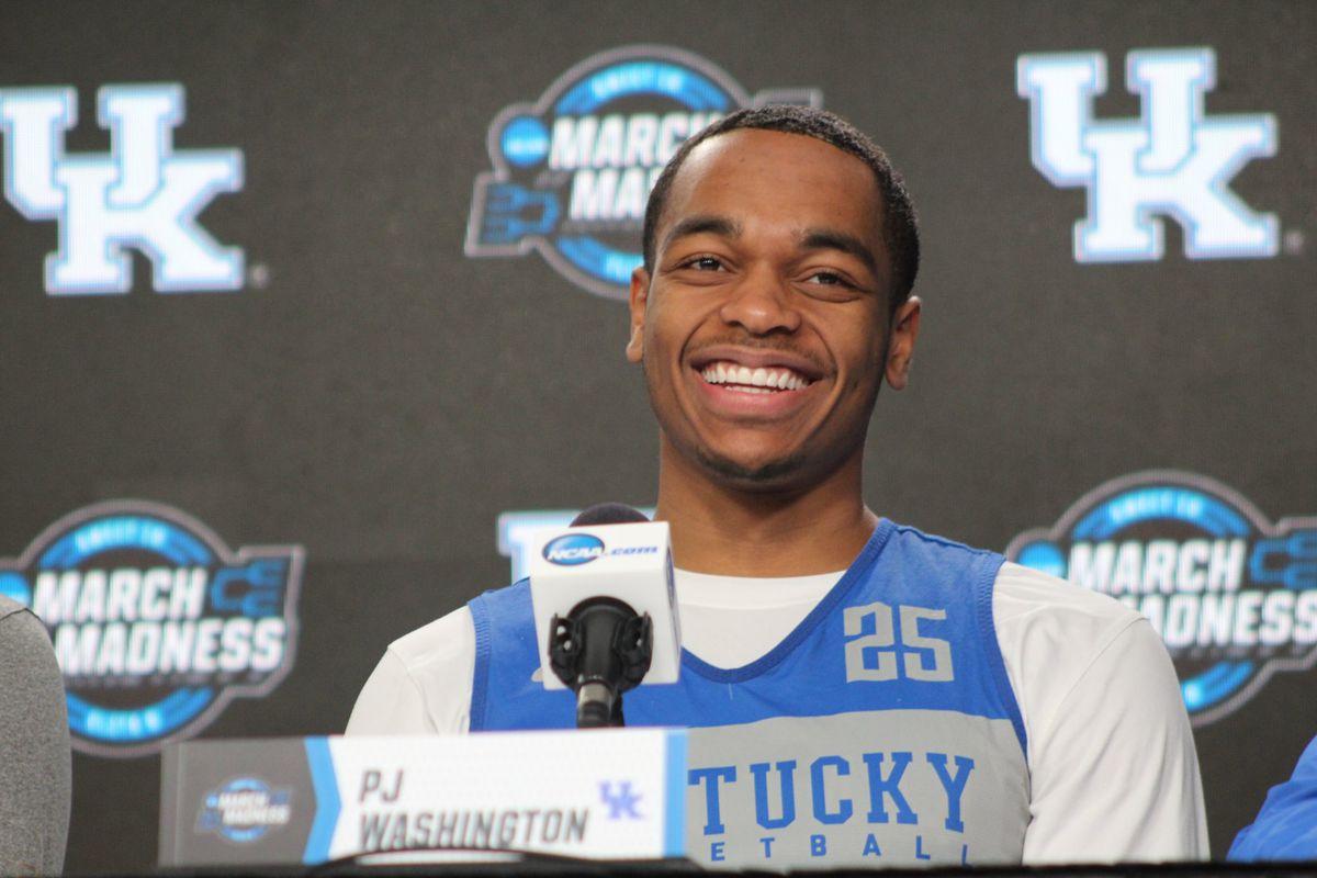 Good To Go Washington >> Pj Washington Injury Good To Go Vs Auburn After Becoming Uk Legend