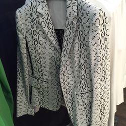 White/black VPR jacket, $572 (originally $2,290)