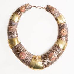 Maya Articulated Collar Necklace (1970's), $425.
