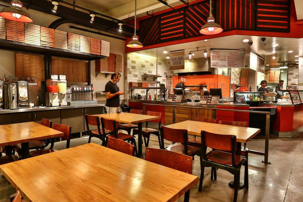 Blaze Pizza in Culver City, California