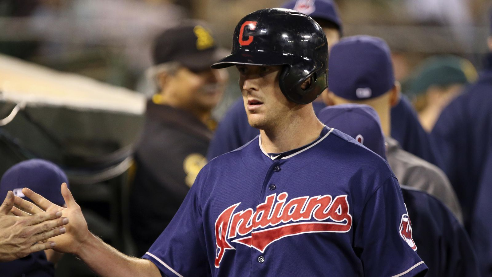 Indians send Stubbs to Rockies for Outman