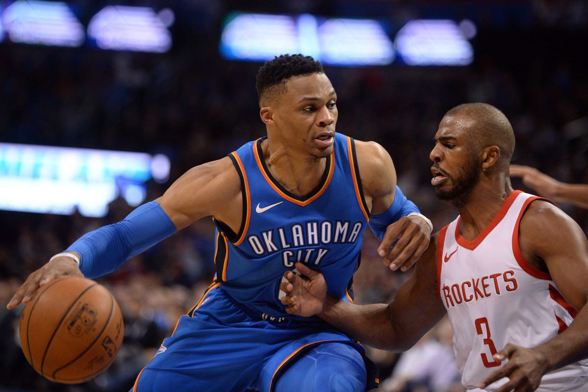 Rockets Trading Chris Paul to Thunder for Russell Westbrook