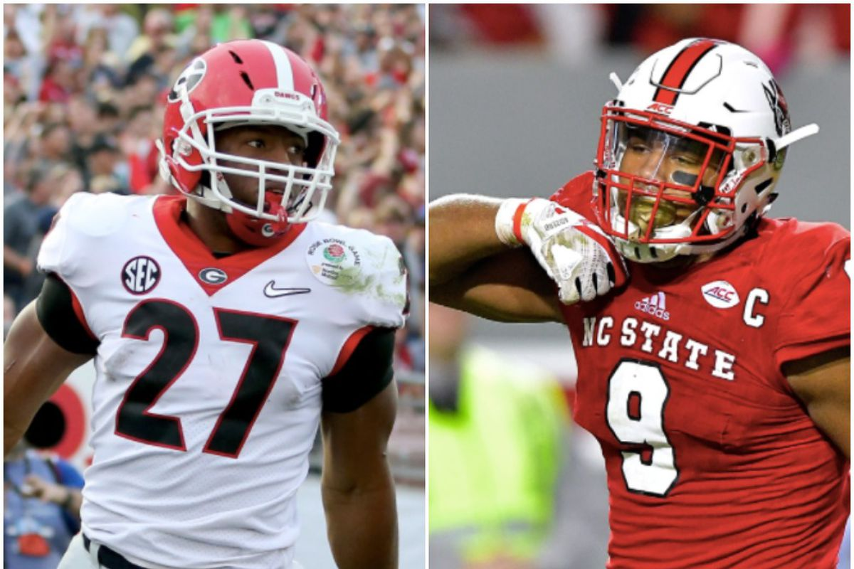 Former NC State defensive lineman Bradley Chubb and former Georgia running  back Nick Chubb are two of the many NFL prospects about to have their names  ... 1b99d4602