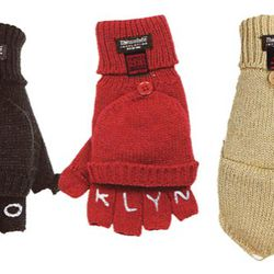 """Father Panik Industries """"tattoo knuckle"""" convertible gloves, $32"""