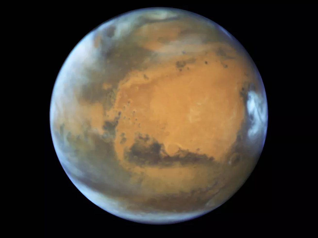 This is Mars. Definitely not the moon.