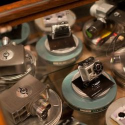 Digital cameras available at the Levi's workshop