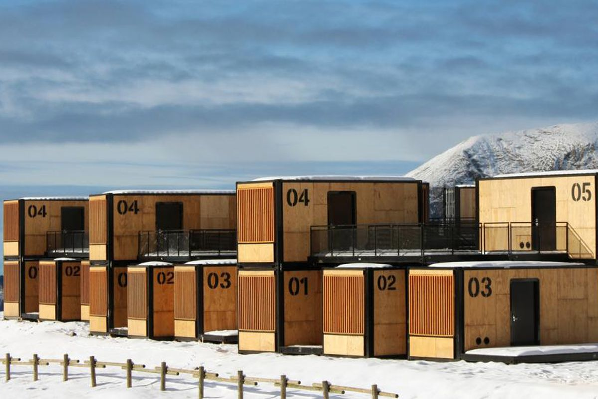 Shipping container hotel can travel around the world - Curbed