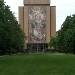 """""""Notre Dame is a Catholic university and endorses a Catholic view of marriage. However, it will follow the relevant civil law and begin to implement this change immediately,"""" the university emailed to employees."""