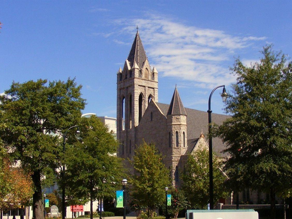 The sanctuary at St. Mark's in Midtown Atlanta.