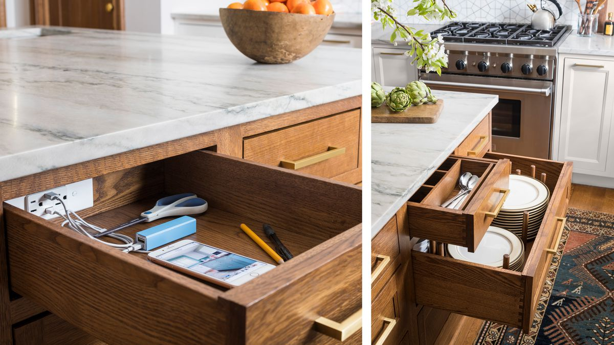 charging station/kitchen drawers, kitchen remodel in Larchmont, NY, Light touch, Nov/Dec 2020