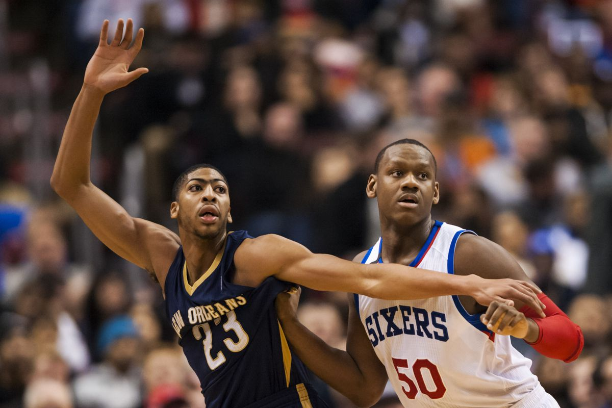 Davis torched the Sixers for 22 points, 10 boards, and 4 blocks in the Pelicans victory on Friday night.