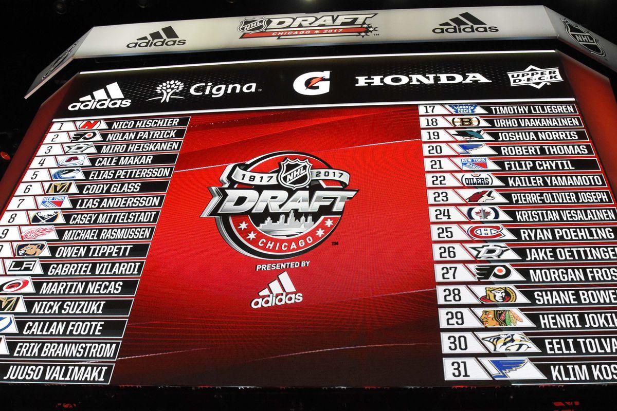 2018 nhl entry draft rankings pre world junior list