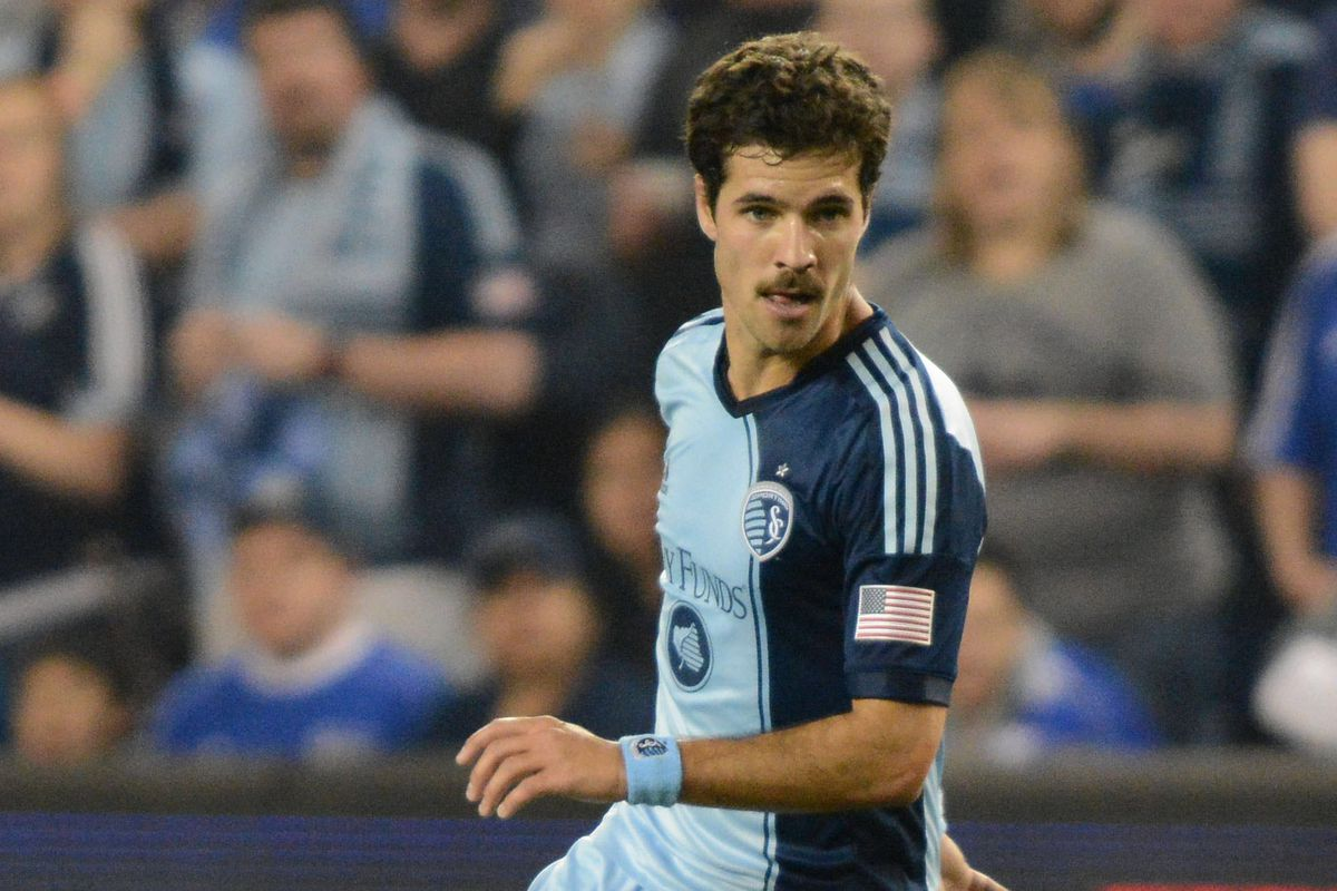 Benny Feilhaber's mustache is 40% responsible for Sporting's success