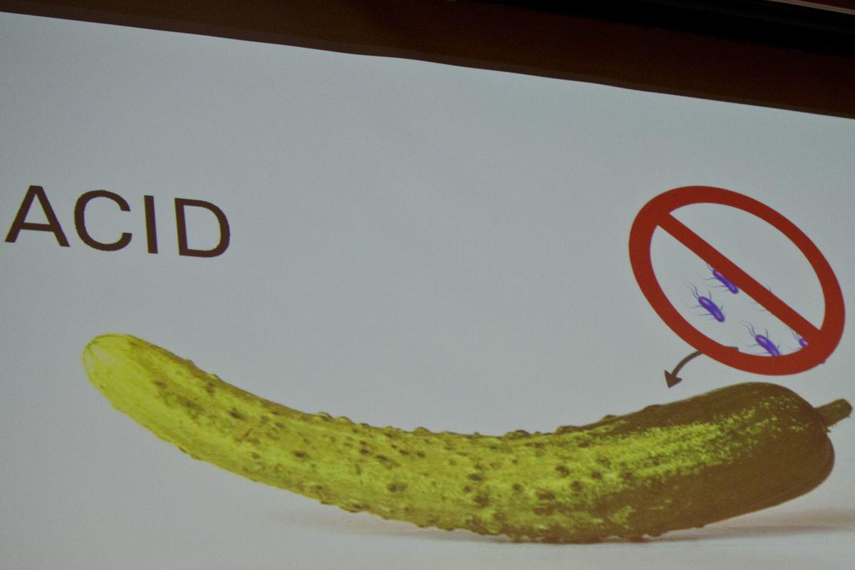 Daniel Humm at Harvard - Pickle