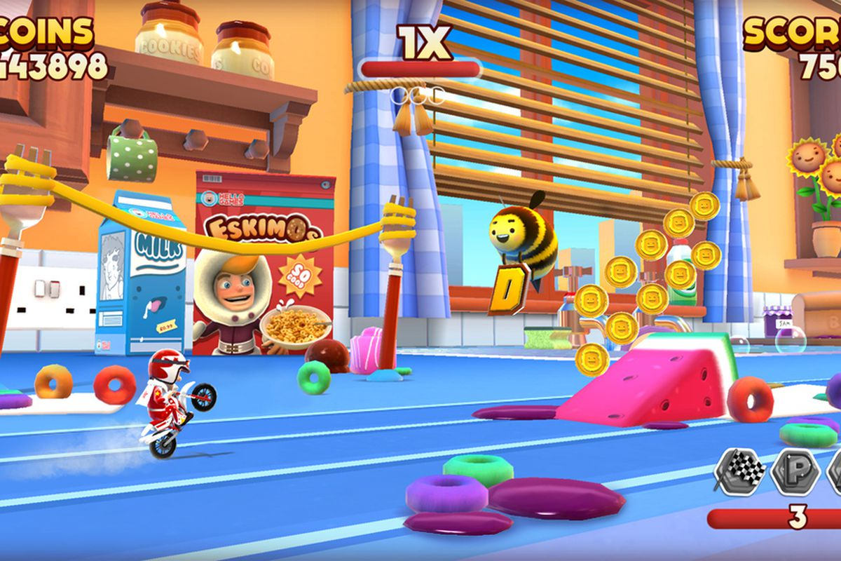 Hello Games announces Joe Danger Infinity for iOS - Polygon
