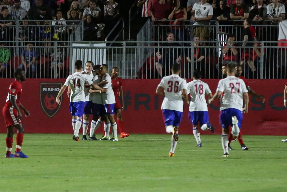 USL Phoenix Rising FC v Toronto FC II goal celebration