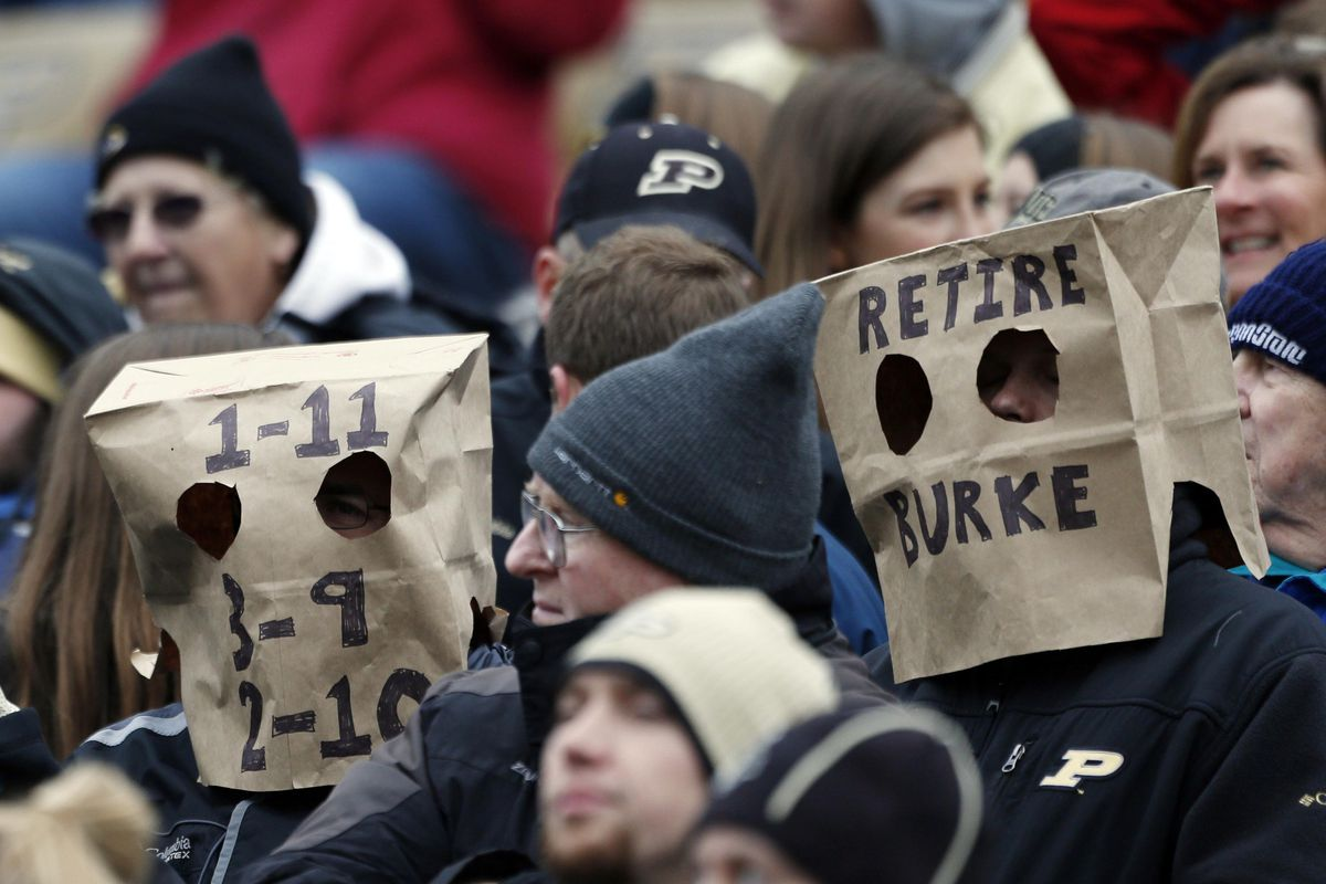 2016 Purdue Football: Paper bag not included.