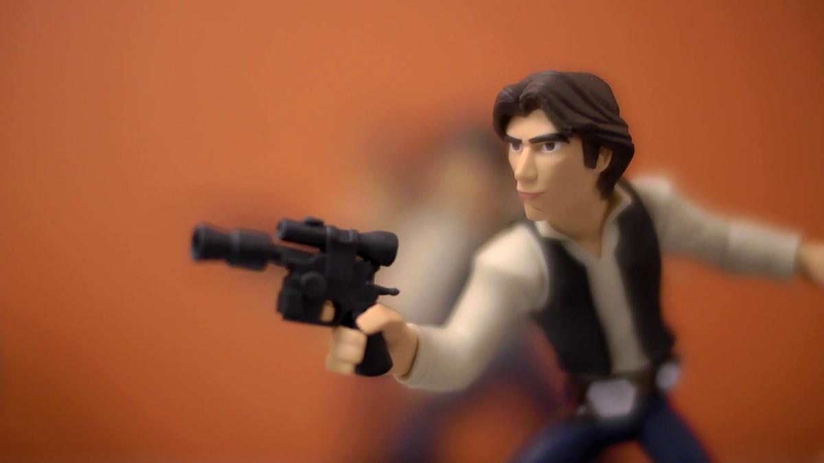 Disney Infinity Star Wars Han Solo (Game Informer video)