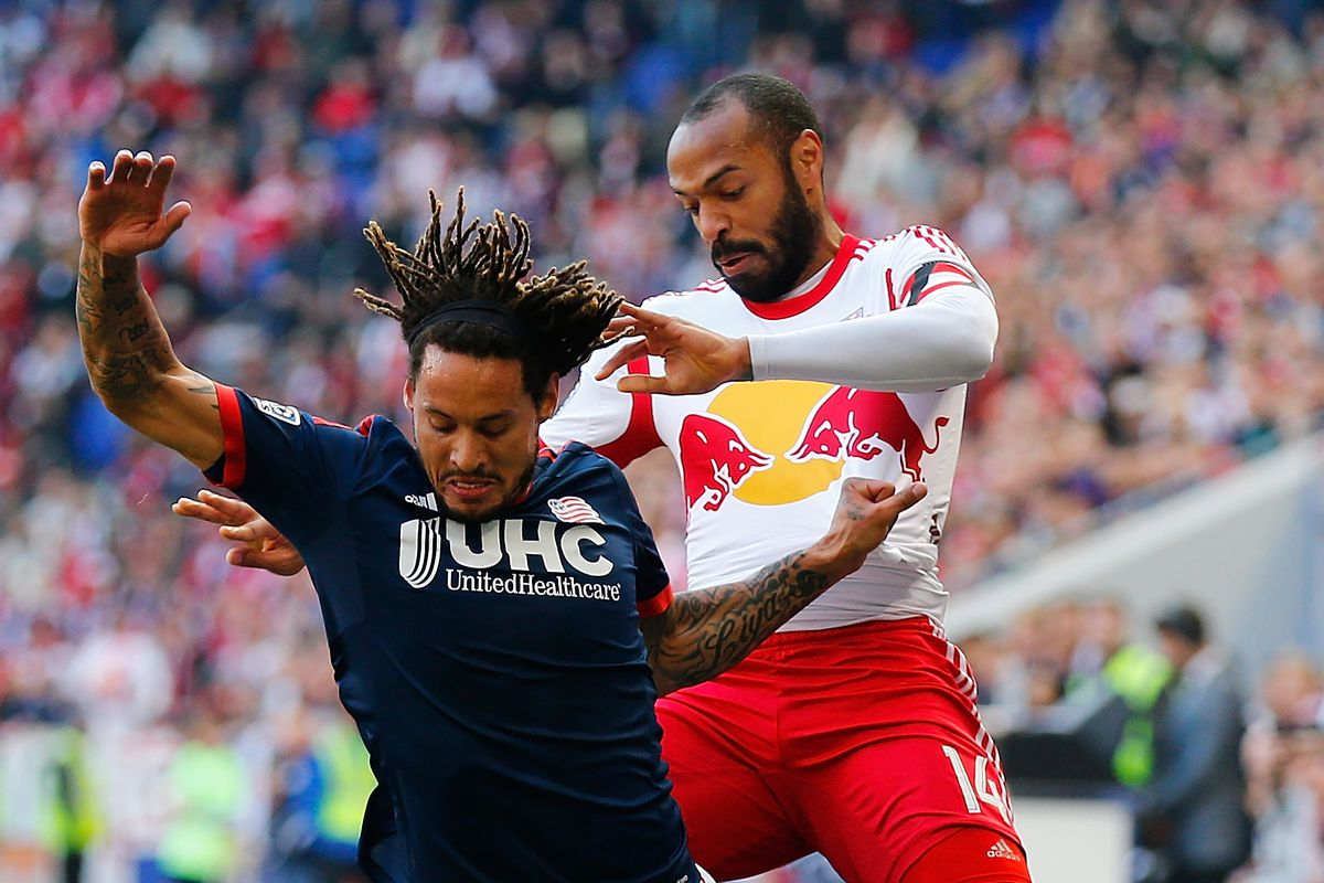 Thierry Henry will play at Gillette Stadium against Jermaine Jones and the New England Revolution.