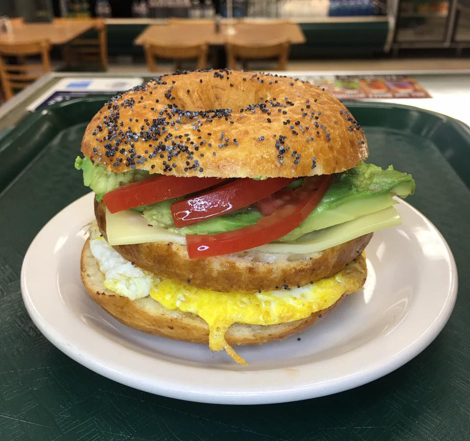 Gluten-free bagel from Mr. Natural