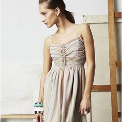 Sweetheart Ruched Dress, $75.00