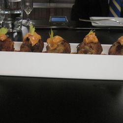 Crabcakes, coming to Edgar Bar & Kitchen.