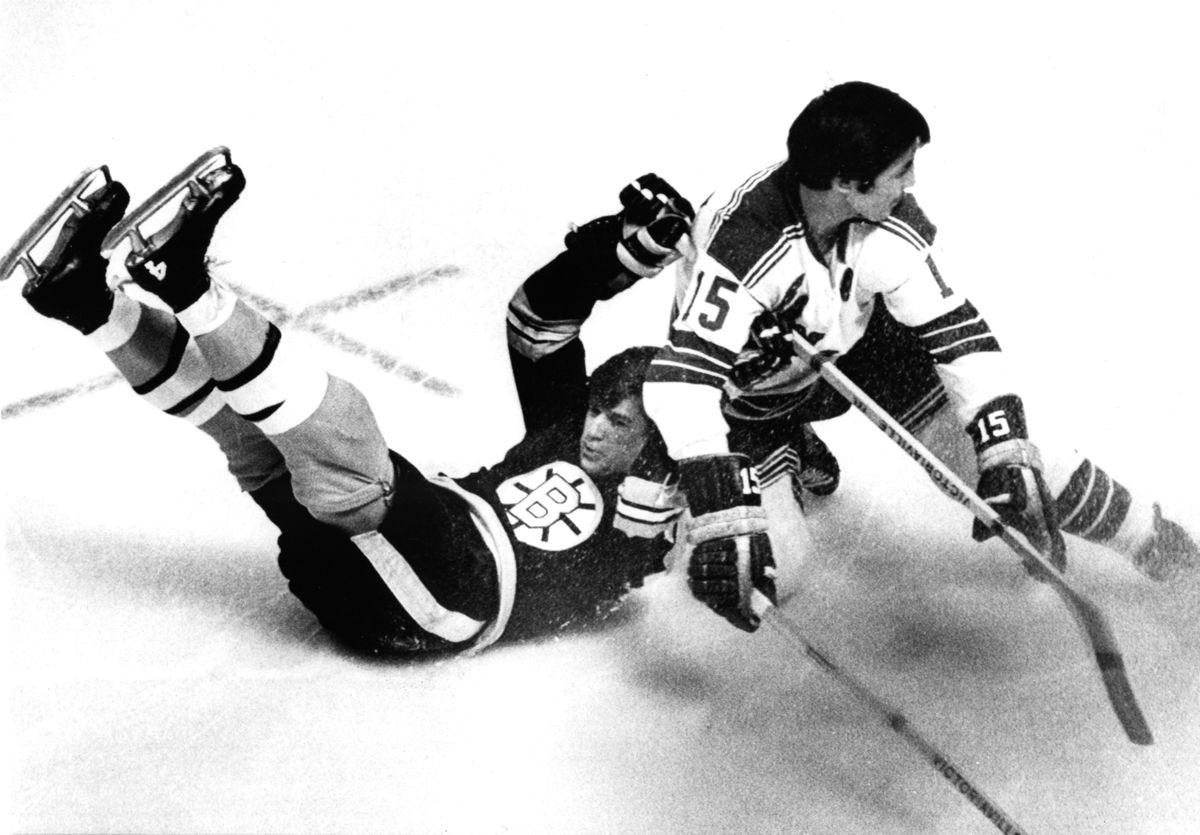 1970 Quarter Finals - Game 2: New York Rangers v Boston Bruins