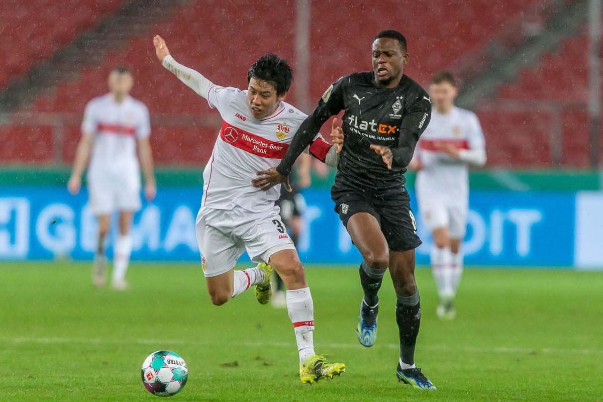 VfB Stuttgart v Borussia Mönchengladbach - DFB Cup: Round Of Sixteen