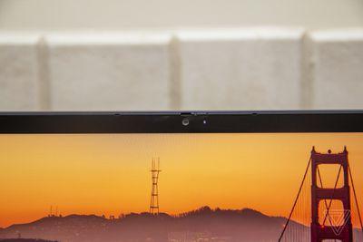 The Lenovo ThinkPad C13 Yoga Chromebook webcam.