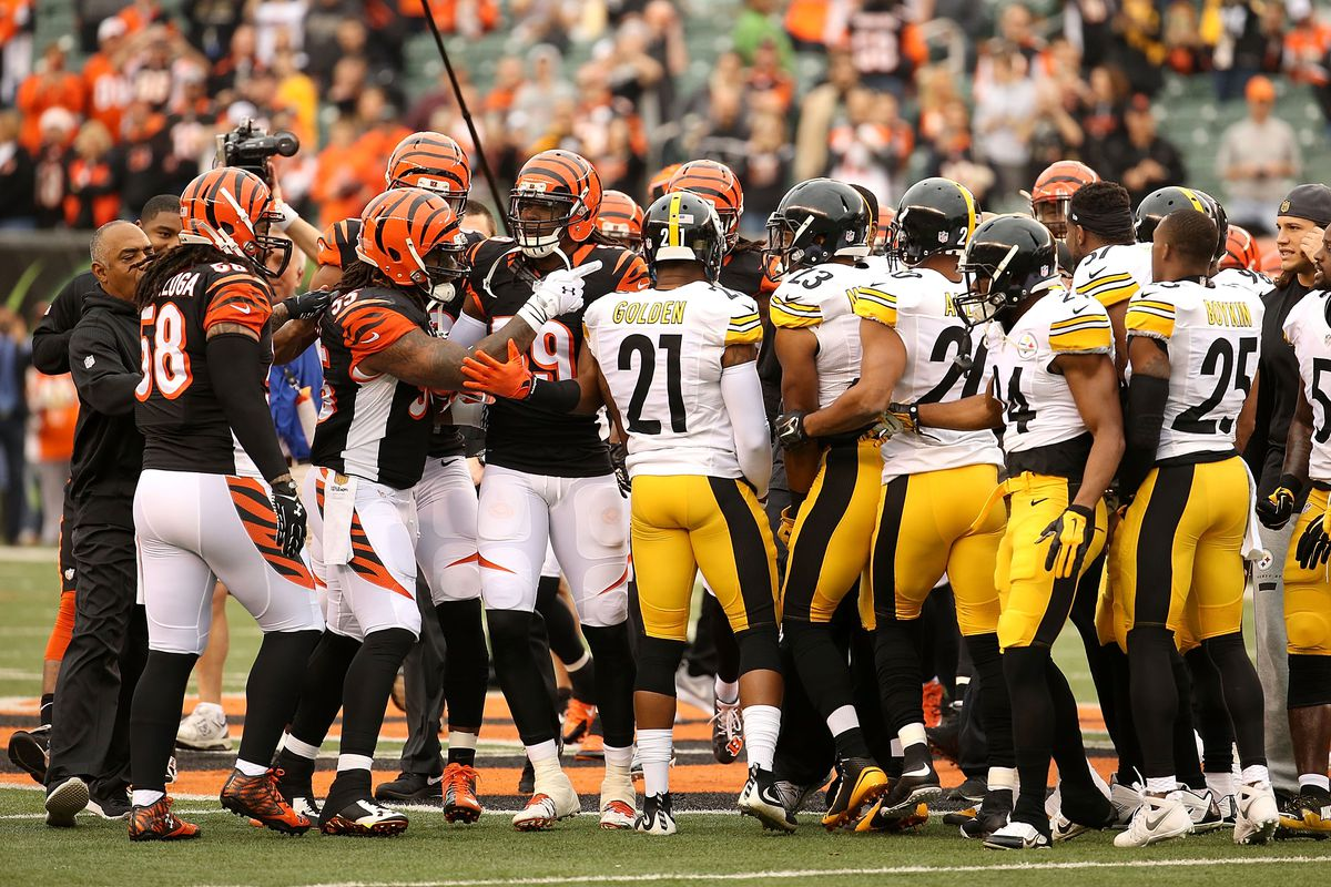Steelers Vs Bengals Wild Card Game Preview History Breeds