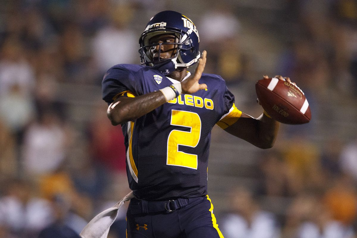 Half of Toledo's two-quarterback tandem was, out of nowhere, drafted by the Padres (Rick Osentoski-US PRESSWIRE)