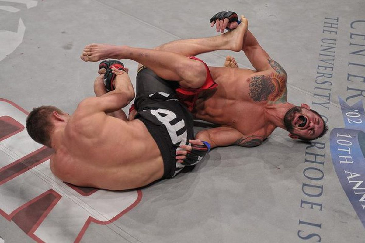 Marcin Held submits Rich Clementi at Bellator 81.