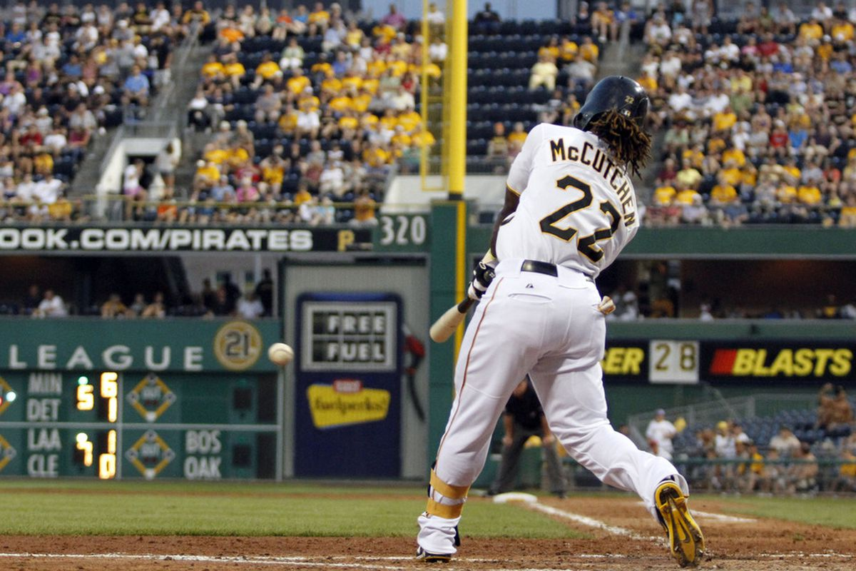 Andrew McCutchen's excellent season probably hasn't surprised many people, but the Buccos leading the NL Central at 45-36 sure has.