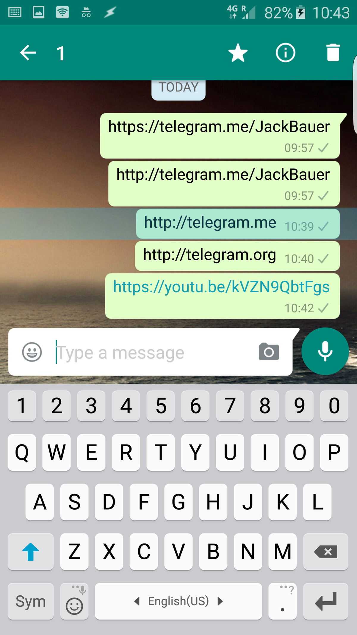 WhatsApp is blocking links to a competing messenger app