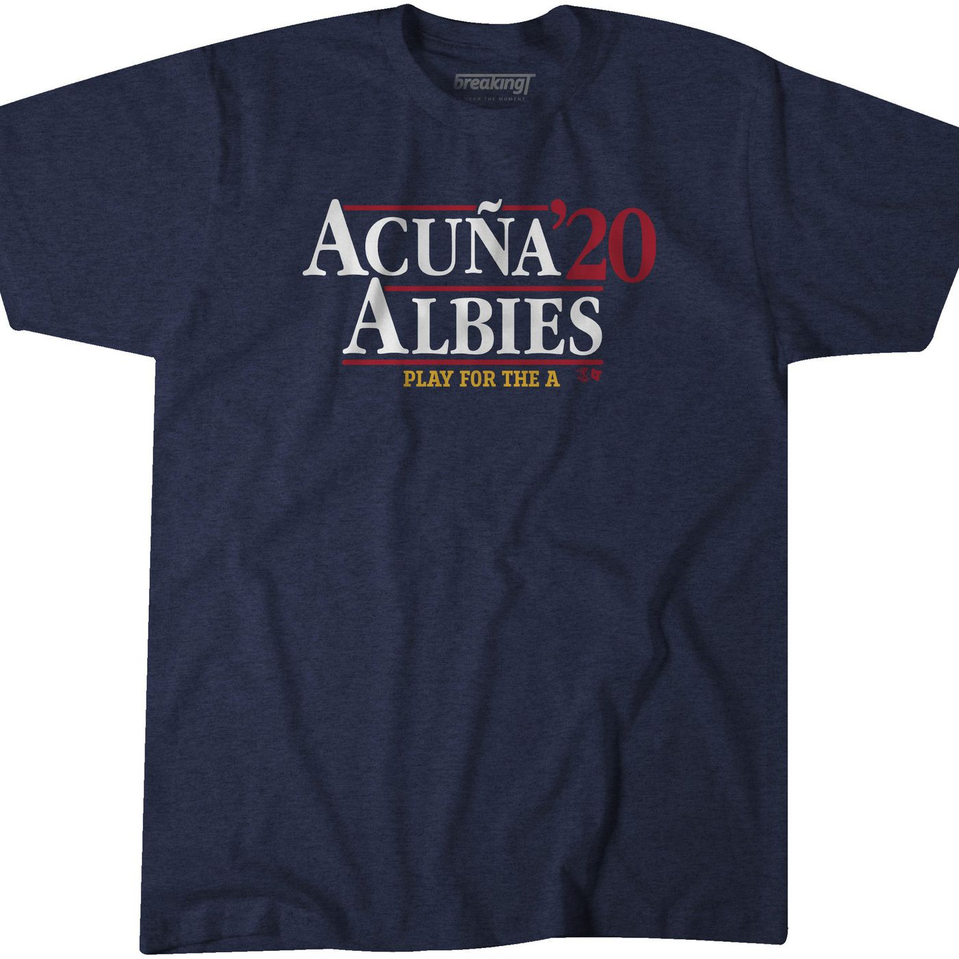 Officially Licensed Acuna /& Albies Acuna Albies 2020 T-Shirt