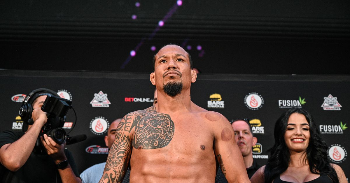 BKFC champion Luis Palomino hospitalized with COVID-19, urges everyone to 'get vaccinated' after he was again…