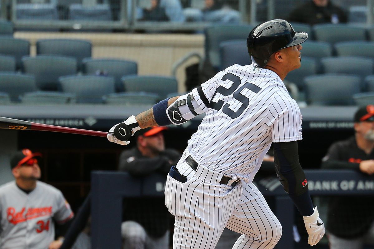 MLB: Game One-Baltimore Orioles at New York Yankees