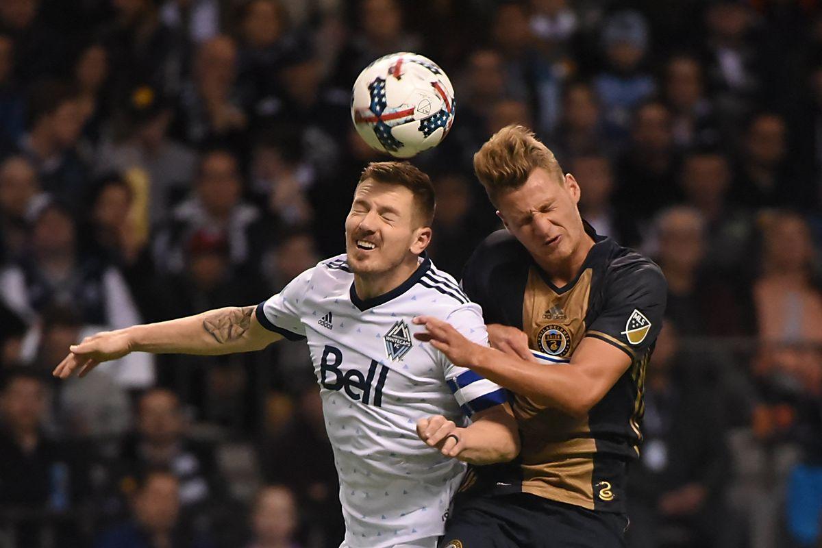 MLS: Philadelphia Union at Vancouver Whitecaps FC