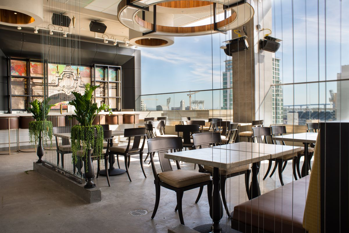 Gaze Upon The Gaslamp's New Rooftop Cocktail Bar With A View