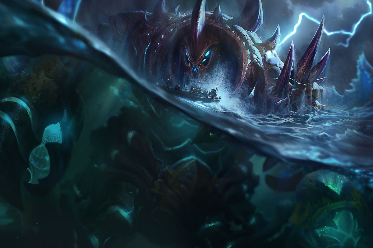 urgot s updated splash art looks epic the rift herald