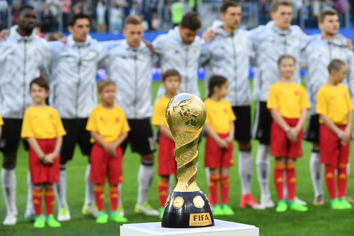 Chile - Germany: FIFA Confederations Cup 2017