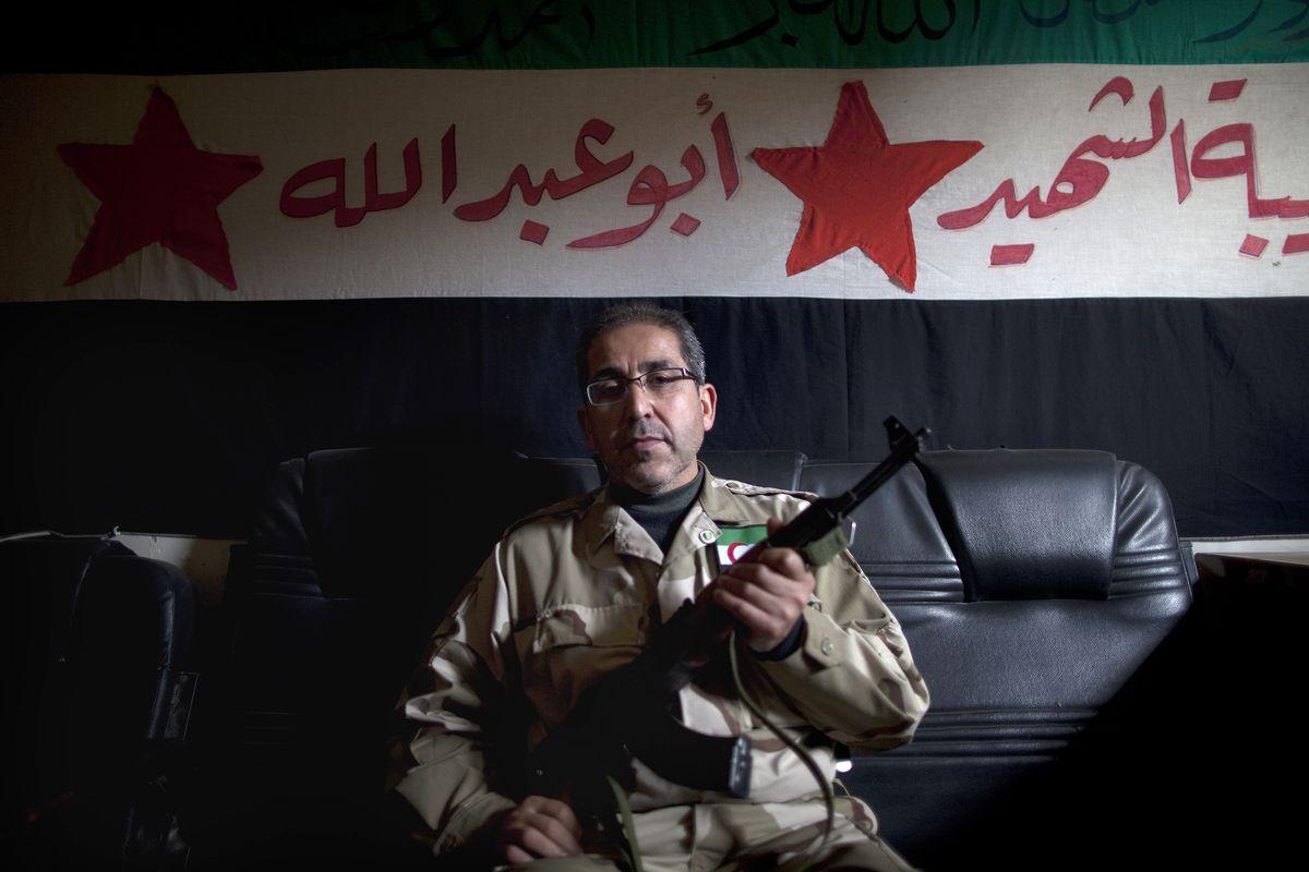 A Syrian Turkmen leader.