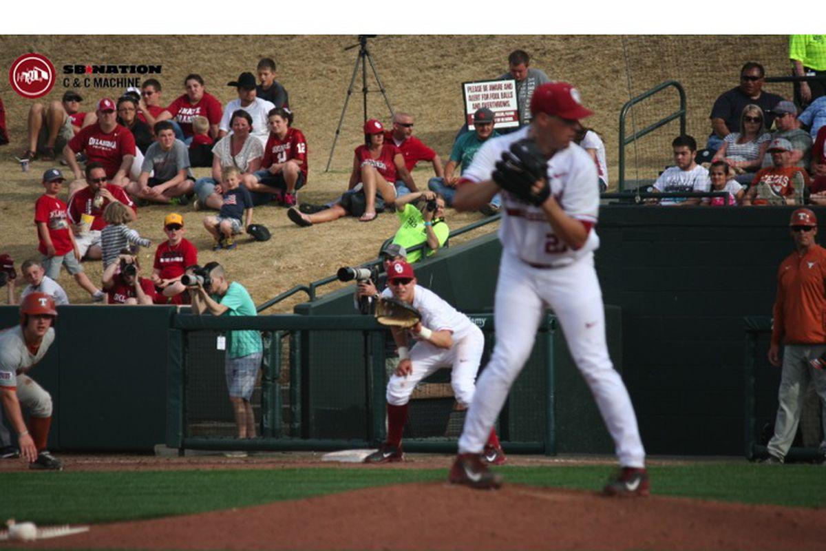 Oklahoma Sooners Vs. Texas Longhorns Baseball Game Day Gallery