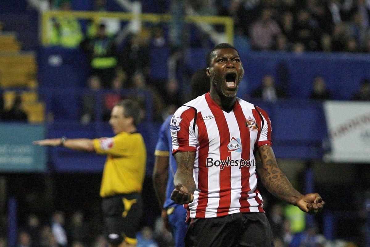 Sunderland's French player Djibril Cisse