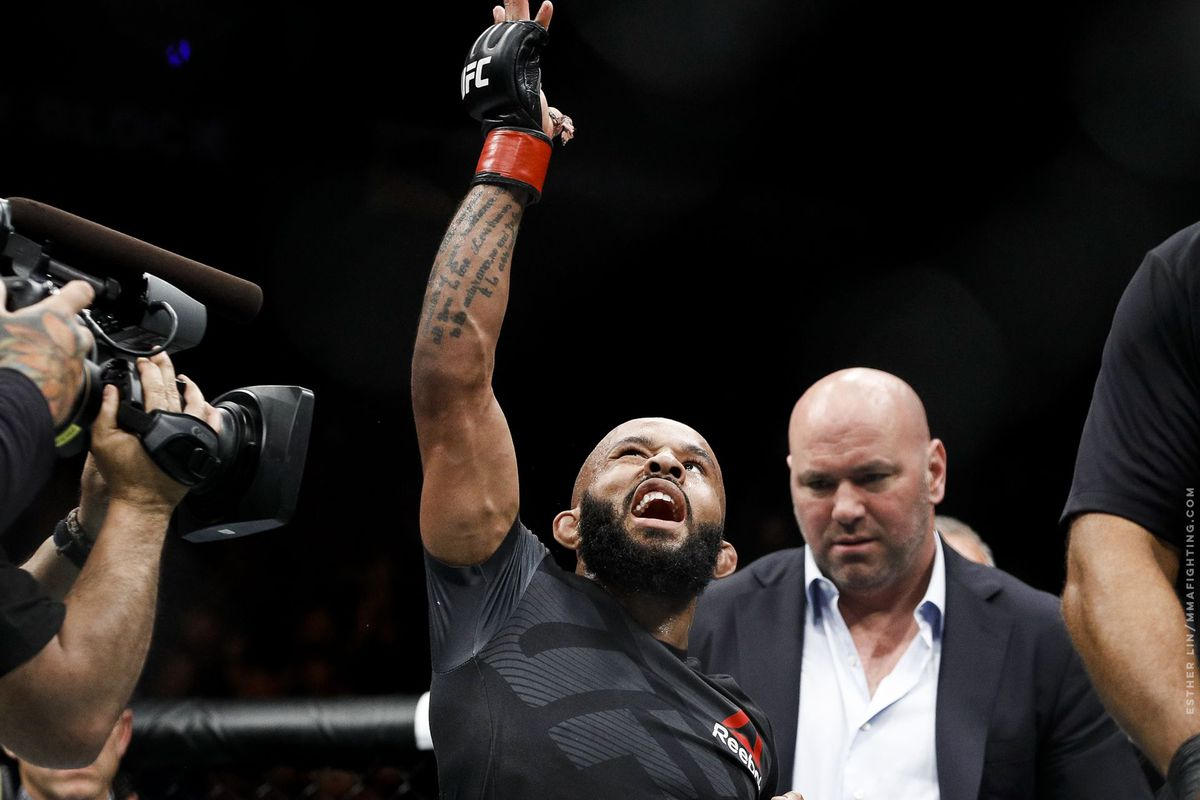 The subliminal bout between Demetrious Johnson and Dana White is a candidate for FOTY - MMA Fighting
